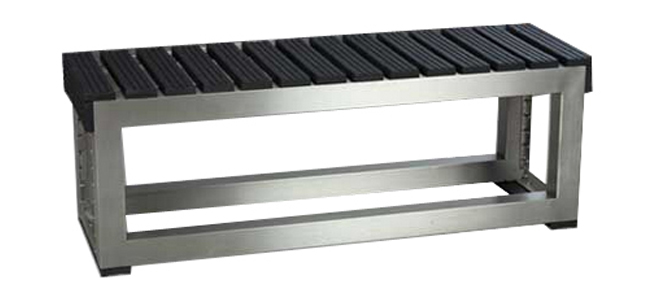 Standard Slatted Bench Rubber Slats