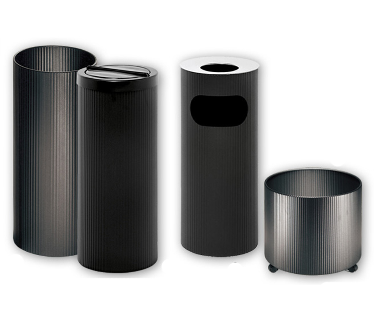 FLUTED BINS