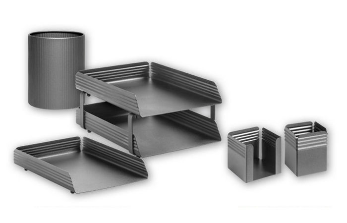 FLUTED DESK SETS