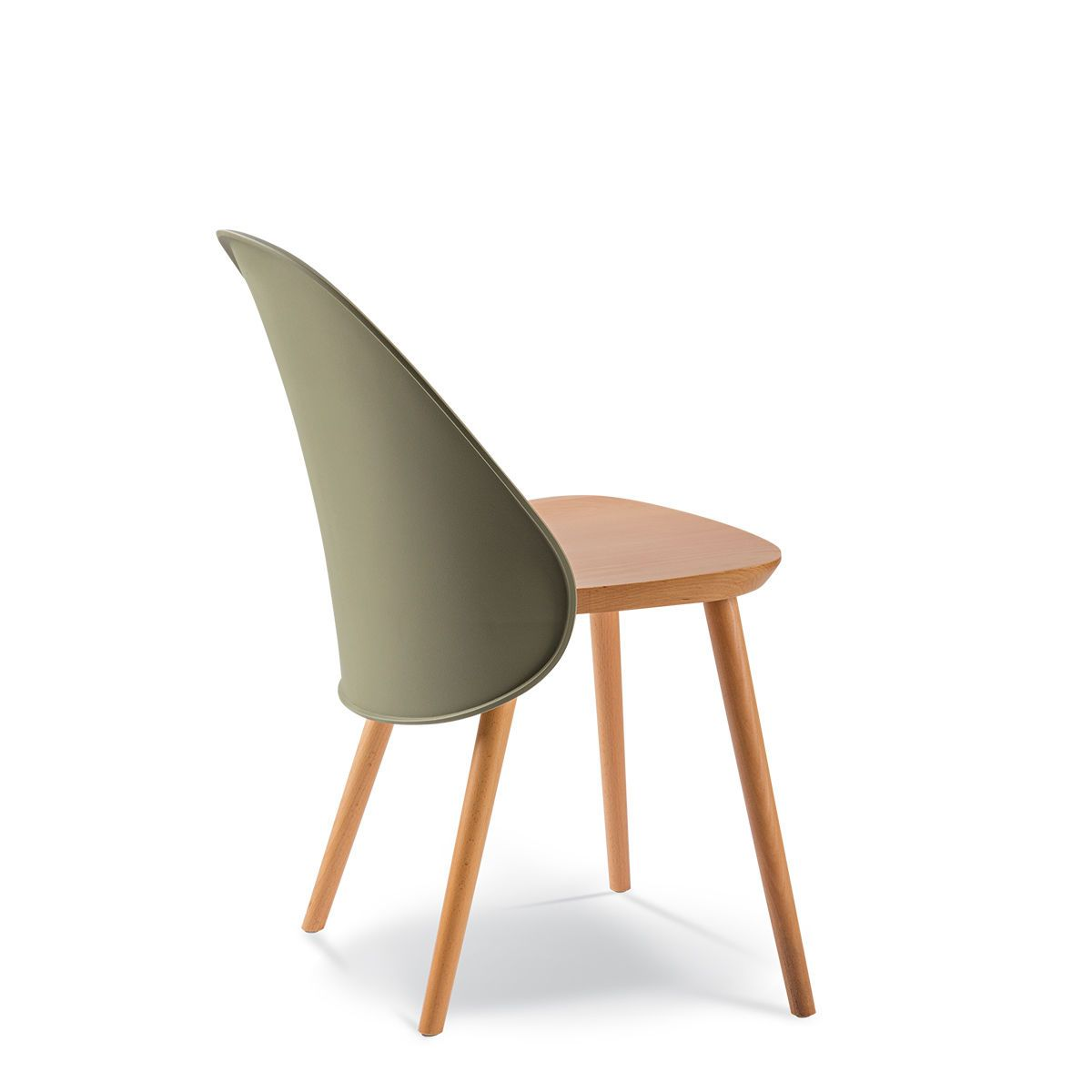 BLOG CHAIR TIMBER SEAT